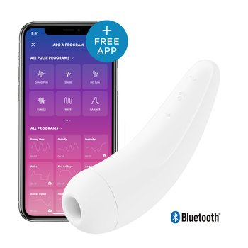 Satisfyer Curvy 2 + white