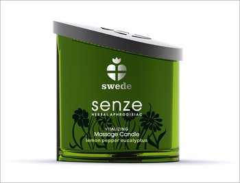 Swede Vitalizing Massage Candle - Lemon Pepper Eucalyptus 150 ml