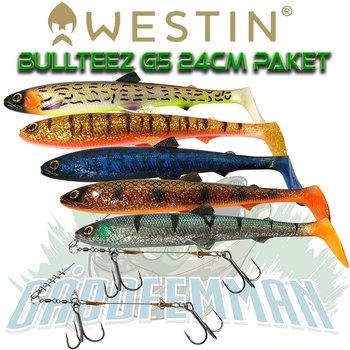 Westin Bullteez 24cm Gäddfemman 2021 paket