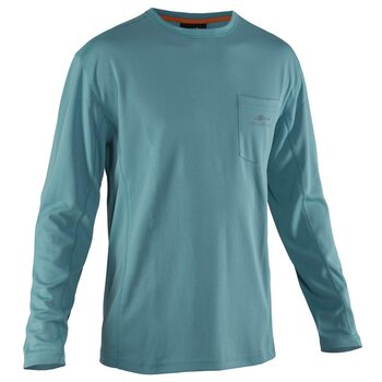 Grundéns Fish Head Long Sleeve Shirt Dusty Turquiose