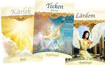 Änglar & helgon orakelkort - Änglakort på svenska