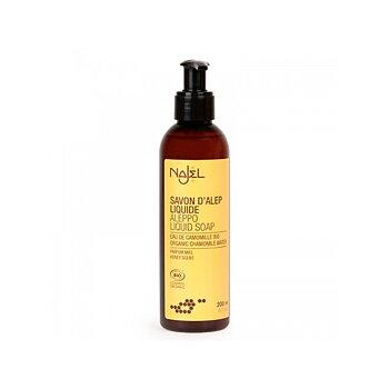Liquid Aleppo soap with chamomile water organic 200ml