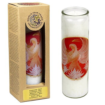 Fragrant Candle Lotus Angel of Love -- 21x6.5 cm