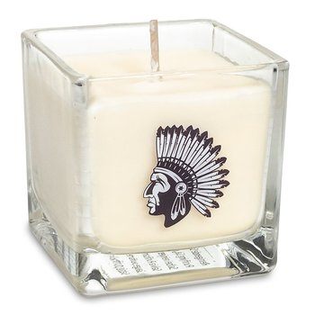 Rapeseed wax scented candle White sage -- 6x6x6 cm