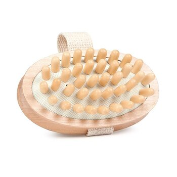 Massage brush for bath/shower