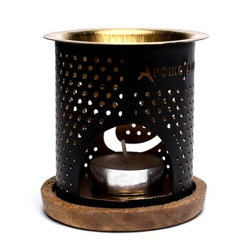 Aromafume oil burner Flower of life -- 8x9cm; 120g