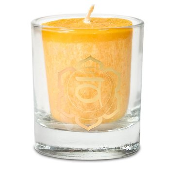 Scented votive candle 2nd chakra in giftbox