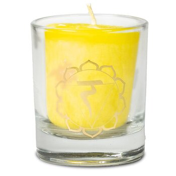 Scented votive candle 3rd chakra in giftbox