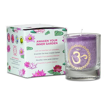 Scented votive candle 7th chakra in giftbox
