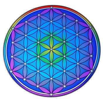 Sunseal decal Flower of Life