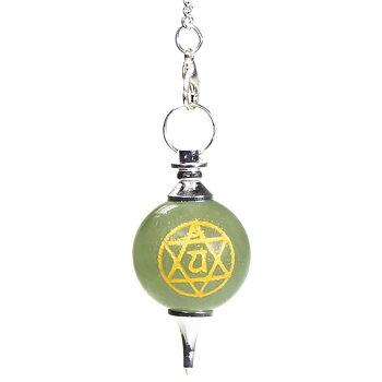 Pendulum 4th chakra Anahata -- 16gr