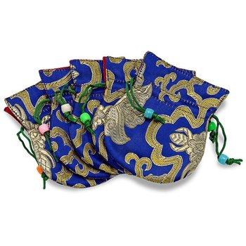 Little Brocade Bag Blue