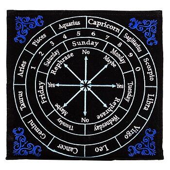 Pendulum mat astrology -- 30x30 cm