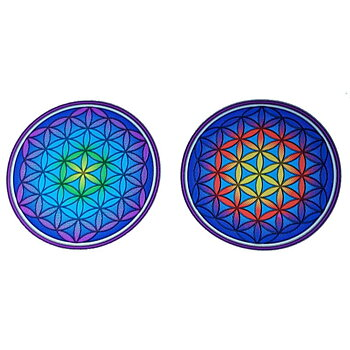 Sunlight decal Flower of Life Mandala