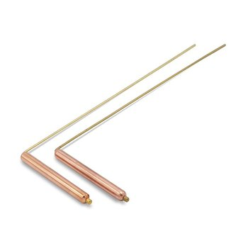 Dowsing Rod (pair) brass/copper 29*8 cm