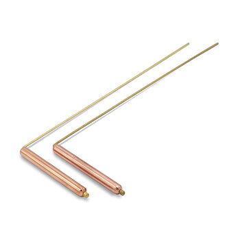 Dowsing Rod (pair) brass/copper 29*8 cm