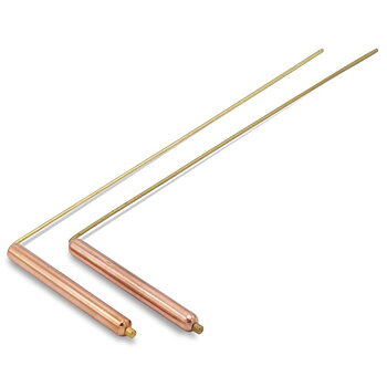 Dowsing Rod (pair) brass/copper 34*13 cm