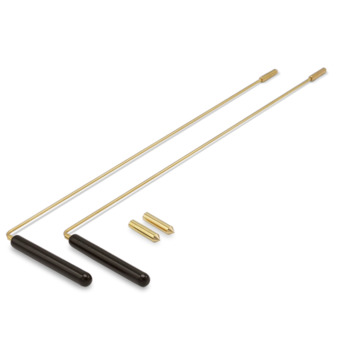Dowsing Rod (pair) brass 40*11