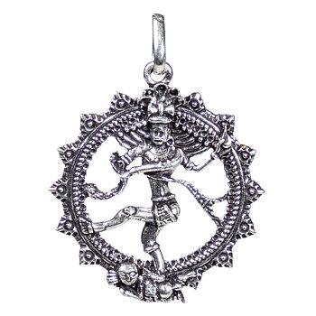 Pendant Shiva silver