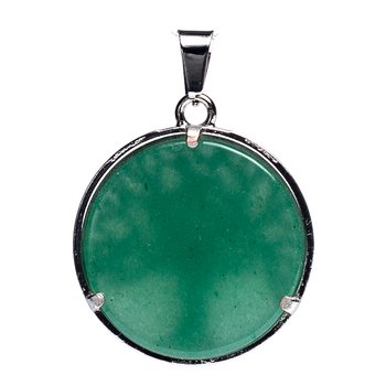 Tree of life pendant with green aventurine
