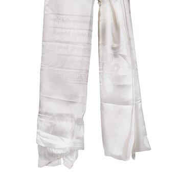 Katha Tibetan shawl white XL