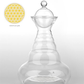 Vital water Carafe Golden Aladin Family -- 2300 ml