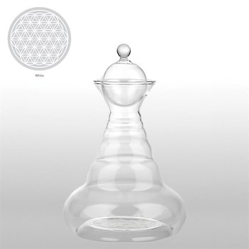 Vital water Carafe White Delicate with FOL white -- 500 ml