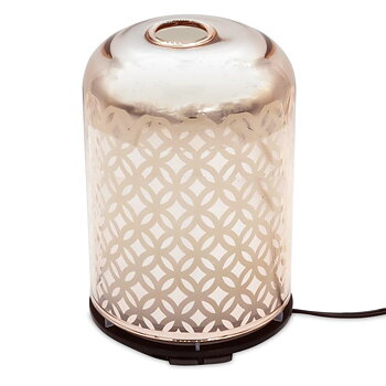 Ultrasonic aroma diffuser flower of life - Rose gold