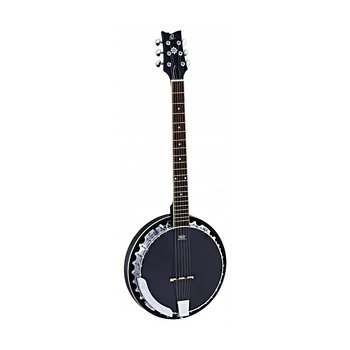 Ortega Banjo 6-str. OBJ350/6-SBK incl. bag