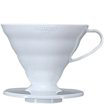 Hario Coffee Dripper Ceramic V60 02 White
