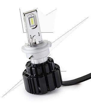 3-Pakke NBB Alpha 225 Luxtar Premium LED