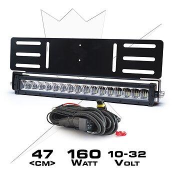 Ledramp Paket infälld X16 | 160W
