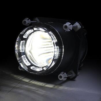 Nightshift® 90mm Projektor  | Helljus med positionsljus