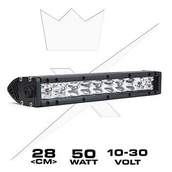 "LEDIS-ON® Ekstralys Slimbar Kombo 50W | 11"""