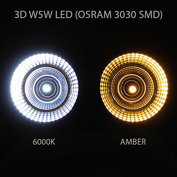 T10|W5W 3D LED 12-24V