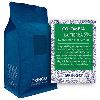 Gringo Nordic - *Kampanj* - Colombia Finca La Tierra - Mellanrostade kaffebönor - 5kg STOR PÅSE