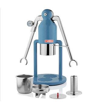 Cafelat - Robot espressomaskin - Manuell espressomaskin - Blå
