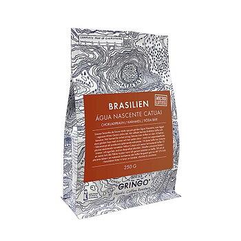 Gringo Nordic - Brasilien Agua Nascente - Mikrolott - Mörkrostade hela espressobönor - 250g
