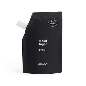 HAAN - Antibakteriell och mjukgörande handdesinfektionsmedel - Wood Night - Refill - 3x påfyllning