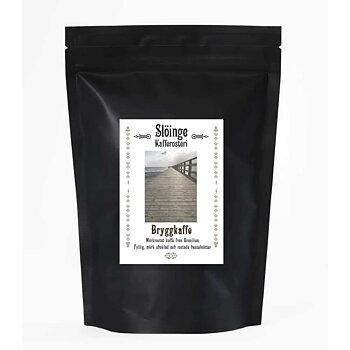 Slöinge kafferosteri - Bryggkaffe - Mörkrostade kaffebönor - Brasilien - 250g