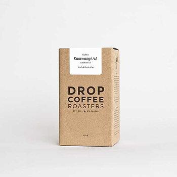 Drop Coffee - Kamwangi AA - Ljusrostade hela kaffebönor - 250g