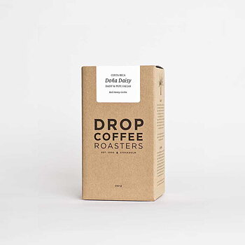 Drop Coffee - Doña Daisy - Red Honey Geisha - Costa Rica - Ljusrostade hela kaffebönor - 125g