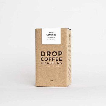 Drop Coffee - Carmelita - Bolivia - Anaerobic Caturra - Ljusrostade hela kaffebönor - 250g