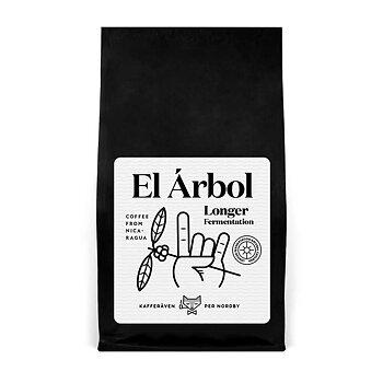 Kafferäven Per Nordby - El Arbol - Longer Fermentation - Nicaragua - Ljusrostade hela kaffebönor -250g