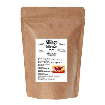 Slöinge kafferosteri - Mutana - Burundi - Natural - Ljusrostade hela kaffebönor - 250g
