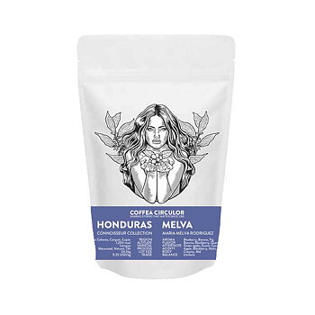 Coffea Circulor - Melva - Honduras - Ljus/mellanrostade  hela kaffebönor - 250g
