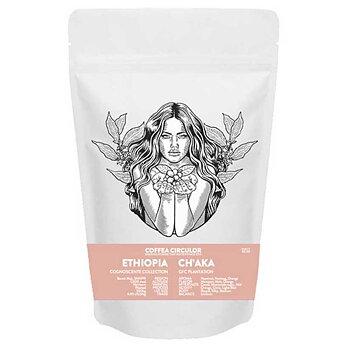 Coffea Circulor - Ch'aka - Etiopien - Washed - Mellanrostade kaffebönor - 1000g