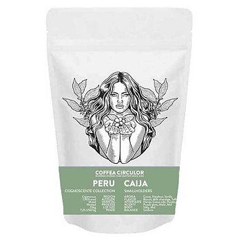 Coffea Circulor - Caija- Peru - Mellanrostade hela kaffebönor - 1000g