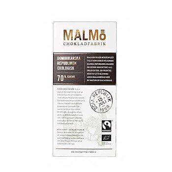 Malmö Chokladfabrik - Dominikanska Republiken - Ekologisk bean-to-bar choklad från Malmö - 80 g