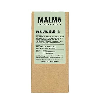Malmö Chokladfabrik - MCF Lab Serie - Blond lakrits 38% - 80g